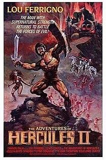 <i>The Adventures of Hercules</i> 1985 film by Luigi Cozzi