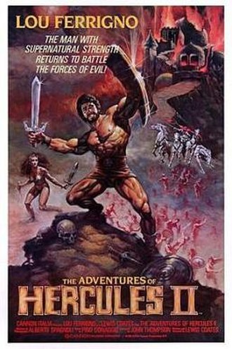 The Adventures of Hercules - Image: The Adventures of Hercules Film Poster