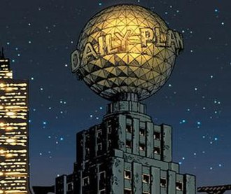 Daily Planet - The Daily Planet building