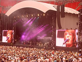 The Enemy (UK rock band) band that plays indie rock