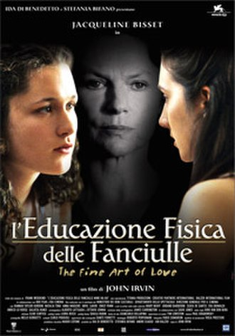 The Fine Art of Love - A promotional poster using the film's Italian title