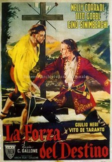 <i>The Force of Destiny</i> (film) 1950 film by Carmine Gallone