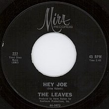 The Leaves - Hey Joe.jpg