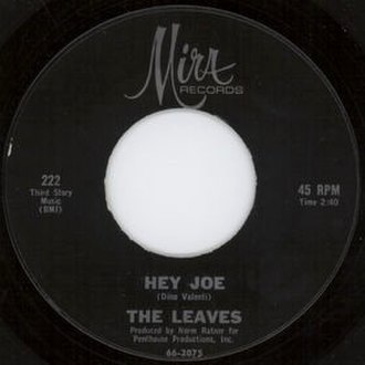 Hey Joe - Image: The Leaves Hey Joe