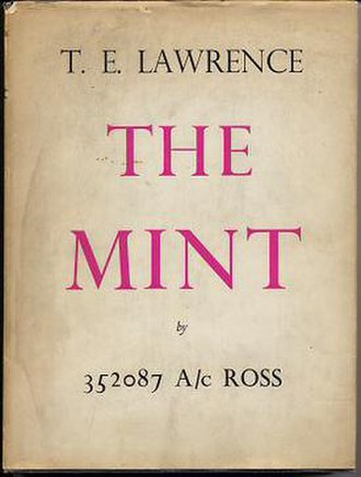 The Mint (book) - First (expurgated) general edition, 1955