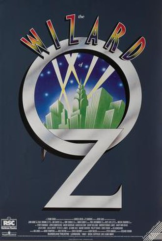 The Wizard of Oz (1987 musical) - Poster from the original 1987 RSC production