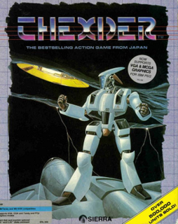 <i>Thexder</i> video game