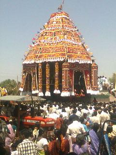 Thungapuram Panchayat village in Tamil Nadu, India