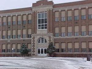 Tipton Community School District - Image: Tipton High School