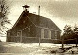 Tisdale Public School SS#12; opened 1884 and closed March 1960