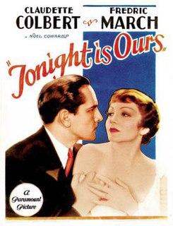 <i>Tonight Is Ours</i> 1933 film by Stuart Walker