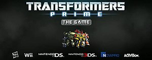 Transformers: Prime – The Game - Image: Transformers Prime The Game