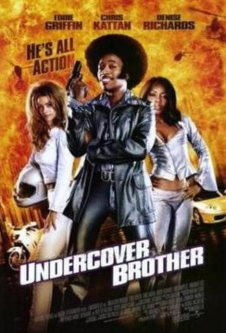 Undercover Brother - Theatrical release poster