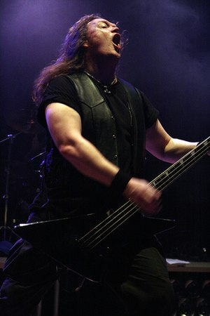 Unleashed (band) - Bassist/vocalist Johnny Hedlund, founder of the band