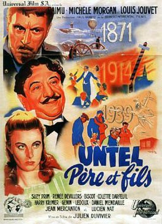 The Heart of a Nation - Image: Untel pere et fils poster