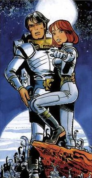 Valérian and Laureline - Valérian and Laureline as drawn by Jean-Claude Mézières