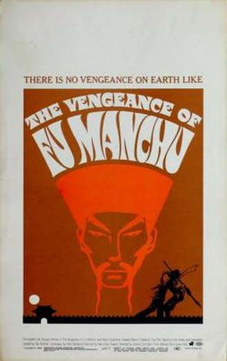The Vengeance of Fu Manchu - Theatrical release poster