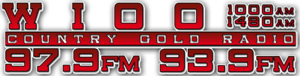WIOO - Image: WIOO Country Gold Radio 1000 1480 logo