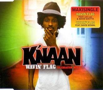 Wavin' Flag - Image: Wavin flag knaan william david guetta