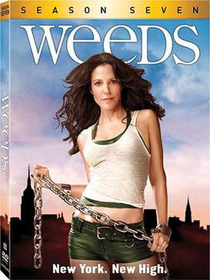 Weeds (season 7) - Image: Weeds S7 DVD