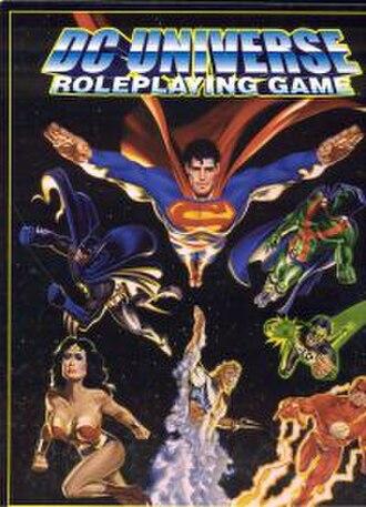DC Universe Roleplaying Game - Image: Wegdcuniverse