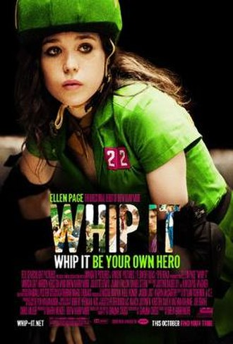 Whip It (film) - Theatrical release poster