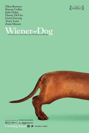 Wiener-Dog (film) - Theatrical release poster