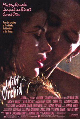 Wild Orchid (film) - Theatrical release poster