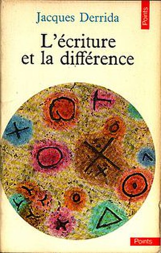 Writing and Difference - Cover of the first edition
