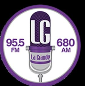 XHELG-FM - Image: XHELG LG La Grande logo
