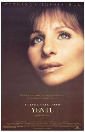 Yentl (film) - Theatrical release poster