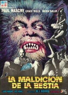 <i>La Maldicion de la Bestia</i> 1975 Spanish film directed by Miguel Iglesias Bonns