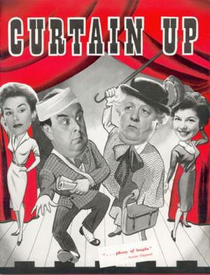 Curtain Up - Pressbook cover