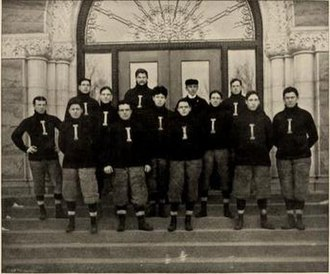 1898 Illinois Fighting Illini football team - Image: 1898 Illinois Fighting Illini football team
