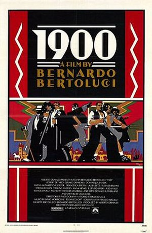 1900 (film) - Theatrical release poster