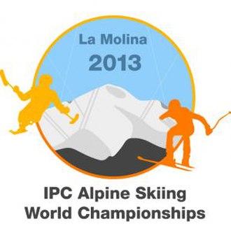 2013 IPC Alpine Skiing World Championships - Image: 2013 IPC Alpine world champs logo