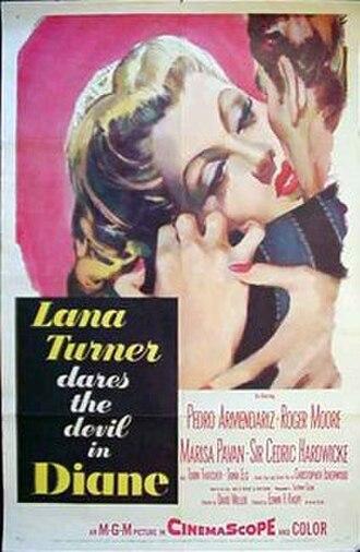 Diane (1956 film) - Original film poster
