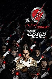 Cyber Sunday (2008) 2008 World Wrestling Entertainment pay-per-view event