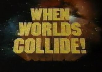 AAA When Worlds Collide - Official Logo of the show.