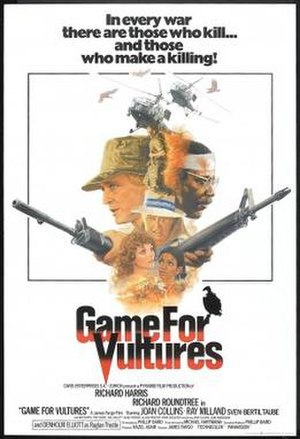 Game for Vultures - American poster