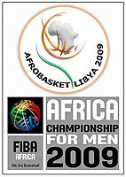 Official logo of AfroBasket 2009