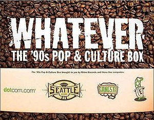 Whatever: The '90s Pop & Culture Box