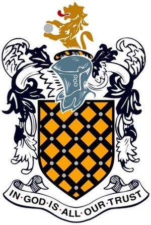 Aldenham School - Image: Aldenham School Crest