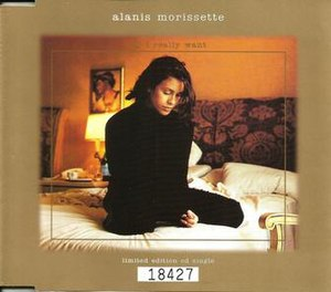All I Really Want (Alanis Morissette song) - Image: All I Really Want single cover