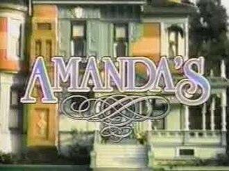 Amanda's - Image: Amanda's TV Title