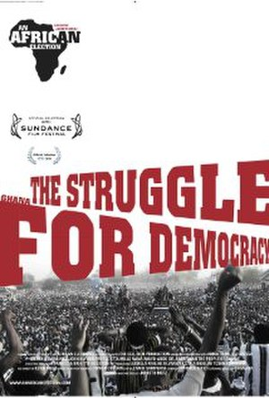 An African Election - Image: An African Election poster film