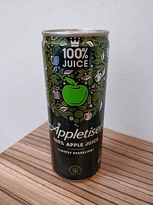 The 250ml Appletiser can that is sold in the UK.