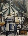 Ardengo Soffici, 1912-13, Deconstruction of the Planes of a Lamp, oil on panel, 45 x 35 cm, Estorick Collection, London.jpg