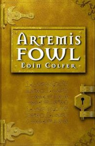 Artemis Fowl - First edition cover of the first book