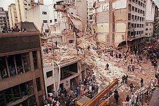 AMIA bombing attack on the Asociación Mutual Israelita Argentina (AMIA)